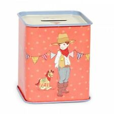 BELLE & BOO ELLIS + EASY MONEY BOX Tin Child Collectable Piggy Bank Children