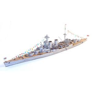 1:400 3D Paper Model United Kingdom Hood Battleship Battlecruiser Ship Boat WWII