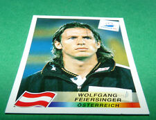 N°142 FEIERSINGER ÖSTERREICH PANINI FOOTBALL FRANCE 98 1998 COUPE MONDE WM