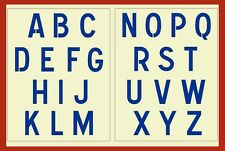 FRENCH SIGN ALPHABET STENCIL - SIGN STENCIL - FRENCH - NEW! - The Artful Stencil