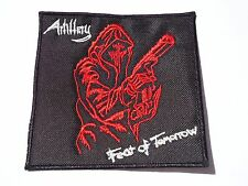 ARTILLERY FEAR OF TOMORROW EMBROIDERED THRASH METAL PATCH
