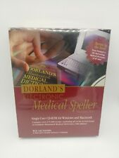 Dorland's Electronic Medical Speller 3.0 CD-Rom Windows Macintosh Software
