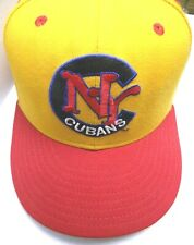 NY Cubans Negro Leagues New Era 59/50 Pro Model Wool Baseball Cap Size 7 1/2