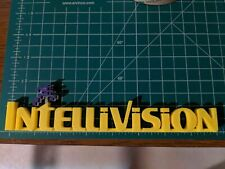 INTELLIVISION Video Game Shelf Display 3D printed logo sign with Running Man
