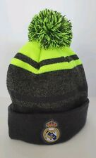 Real Madrid beanie hat soccer official new season authentic gorro grey/neon