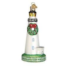 Old World Christmas 20078 Glass Blown Ocracoke Lighthouse Ornament
