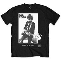 OFFICIAL LICENSED - BOB DYLAN - BLOWING IN THE WIND T SHIRT FOLK ROCK