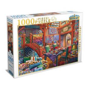 Tilbury Premium Series 1000 Piece Jigsaw Puzzle - Quilt Shop