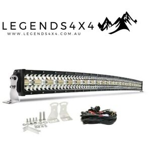 50 inch Curved Led Light Bar 1lux@500m 4WD 4X4 OFF-ROAD