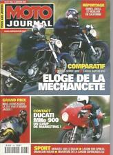 MOTO JOURNAL N°1453 HONDA HORNET 600 / CAGIVA RAPTOR 650 / DUCATI MHe 900
