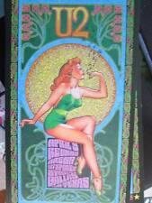 U2 Dallas Texas April 3, 2001 Concert Handbill Approx 4.25x7.75 Inches
