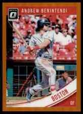 2018 Donruss Optic Orange Prizm Andrew Benintendi 101/199 Boston Red Sox #135