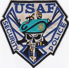 USAF Security Police Jacket Patch N-14