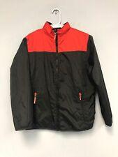 Champion Boys Wind Breaker Jacket Coat L (12-14) Black/Red