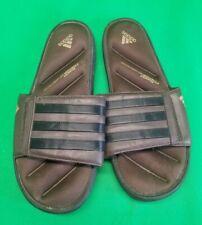 Adidas Fit Foam Flip Flops Sandals Brown  Size US 8 Mens / Womens Unisex