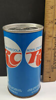 RC Cola Can Flat Pull Tab Top Blue NEHI Chicago Horizontal Contains Rare Vintage
