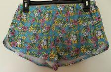 Soffe Juniors Hawaiian Flower Shorts Size Large