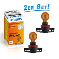 Philips PSY24W 12V 24W Gelb Blinkerleuchte Signalleuchte 2St. 12188NAC1