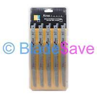 10 KROP Reciprocating Saw Blades Sabre Wood 240mm S1531L Bosch Dewalt Makita