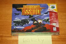 Aerofighters Assault (N64 Nintendo 64) NEW SEALED V-SEAM, EXCELLENT, RARE!