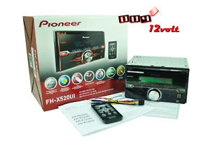 Pioneer FH-X520UI Double-DIN In-Dash CD Receiver USB AUX Input in Front