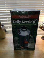 kelly kettle Base Camp Stainless Steel New In Box!!