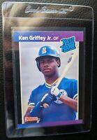 1989 DONRUSS #33 KEN GRIFFEY JR ROOKIE CARD RC SEATTLE MARINERS HOF GEM MINT