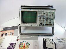 HP 54645D MIXED SIGNAL OSCILLOSCOPE SN: US38060845 w Software and Manual