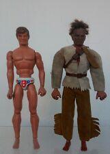 Big jim congost Figuras 70's Spain DEPORTISTA Y JERONIMO LOTE