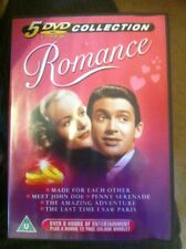 Classic Romance DVD Collection Box Set / 5 Films / Used / Excellent Condition