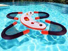 Schwimmende Wasser-Bar Wasserbar aufblasbare Bar mit vier gemütlichen Sesseln