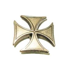 "Iron Cross Concho Pewter 1"" x 1"""