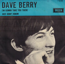 "DAVE BERRY -  I'm Gonna Take You There (1965 VINYL SINGLE 7"" DUTCH PS)"