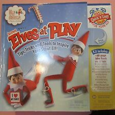 The ELF ON THE SHELF.  Scout ELVES AT PLAY,  15-Piece Adventure Kit 100 IDEAS