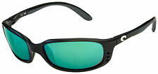 Costa Del Mar Brine Sunglasses BR-11-EGMGLP Black   Green Mirror 580G Polarized