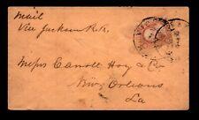 "1850s ""Via Jackson RR"" Cover  - L18009"