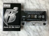 Ruff Ryders Ryde Or Die Vol. 2 Cassette Tape 2000 Interscope Snoop Dogg Scarface