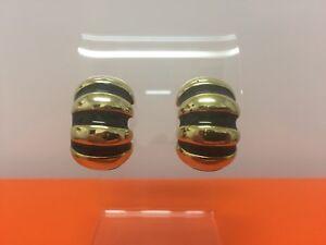 Kenneth Jay Lane KJL Enamel Earrings
