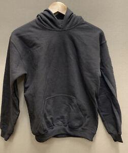 Gildan Youth Heavy Blend Hooded Sweatshirt Dark Brown Large