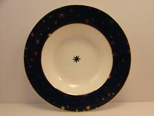 "Galaxy Blue Indonesia by Sakura 8-5/8"" Soup Bowl Gold Stars On Blue Rim NEW"
