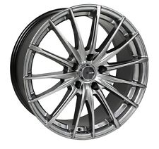 15x6.5 Enkei PFS 5x114.3 +38 Hyper Grey Rims Fits Type R Talon Civic