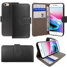 Luxury Soft Leather Flip Wallet Slim Case Cover For New iPhone 6 7 8 5 SE Plus
