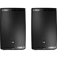 JBL EON615 15 Inch Powered Speaker System Pair with Bluetooth