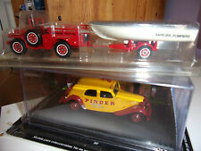 SOLIDO n°53 MADE IN FRANCE DODGE 4X4 POMPIER + REMORQUE AVEC BATEAU 1/43 NEUF