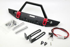 Metal Front Bumper LED Light for Axial Scx10 90046 90060 D90 Crawler RC 1/10
