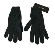 DOLCE & GABBANA Gloves Gray Wool Knitted Wrist Mittens Warm Winter s. S RRP $200