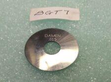 DAMEN CARBIDE  2.5x.125x1x100T  carbide slitting saw SSA25000R01