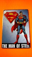 Metal Tin Superhero SIGN Home Wall Decor plaque Poster SUPERMAN The Man of Steel