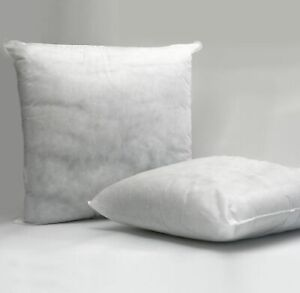 "Cushions Home Decor Furniture Hollowfibre Square Inserts 12 - 36"" / 30 - 40 cm"