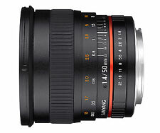 Samyang 50mm F1.4 as UMC Fast Prime Lens Sony/minolta a Mount Ca2530